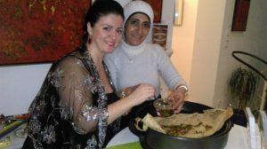 Orientalische Kultur des Libanon und Syriens in Ekunas Kitchen
