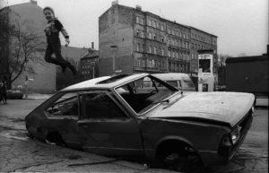 Deutschland, Berlin, 15.04.1991, Kollwitzstrasse , Ecke Belforter Str., © Rolf Zoellner.