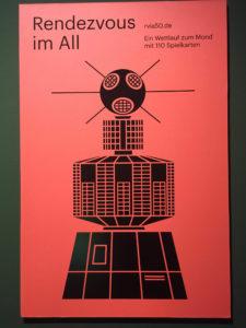Rendezvous im All (Werbeposter) / Client: Spielkartenfabrik Altenburg Bilefelder Spielkarten / Design: beierarbeit / Bielefeld