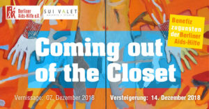 Veranstaltungsplakat Coming Out Of the Closet
