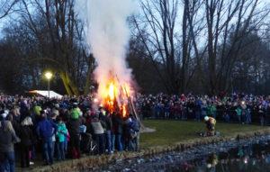 Osterfeuer berlin hohenschönhausen