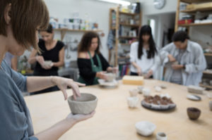 Raku Workshop bei Marie Annick Le Blanc_Ryoko