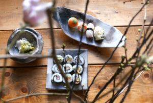 Ryoko Hori Senses Salon _Japanisches Food_Schalen Le Blanc_ web©Anke Sademann