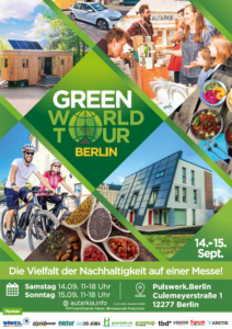 Poster Green World Tour Berlin 2019 Kopie