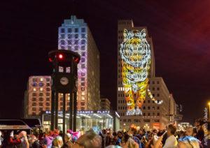FESTIVAL OF LIGHTS 2018_Posdamer Platz_Künstler Otto Schade