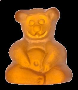 Buddha-Bärchen von mindsweets_orange_freigestellt