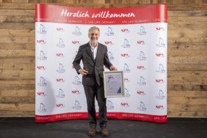 ONO Spa Geschäftsführer Lutz Hesse beim Spa Star Award 2020-for-print