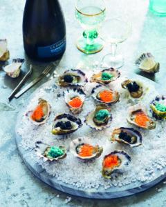 Seite 32 & 33_Venezianische Renaissance-Austern und Kaviar-Kaleidoskop