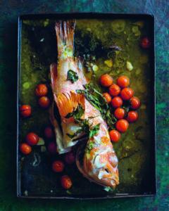 Seite 52 & 53_Burano-Granatbarsch mit Prosecco und Cherrytomaten